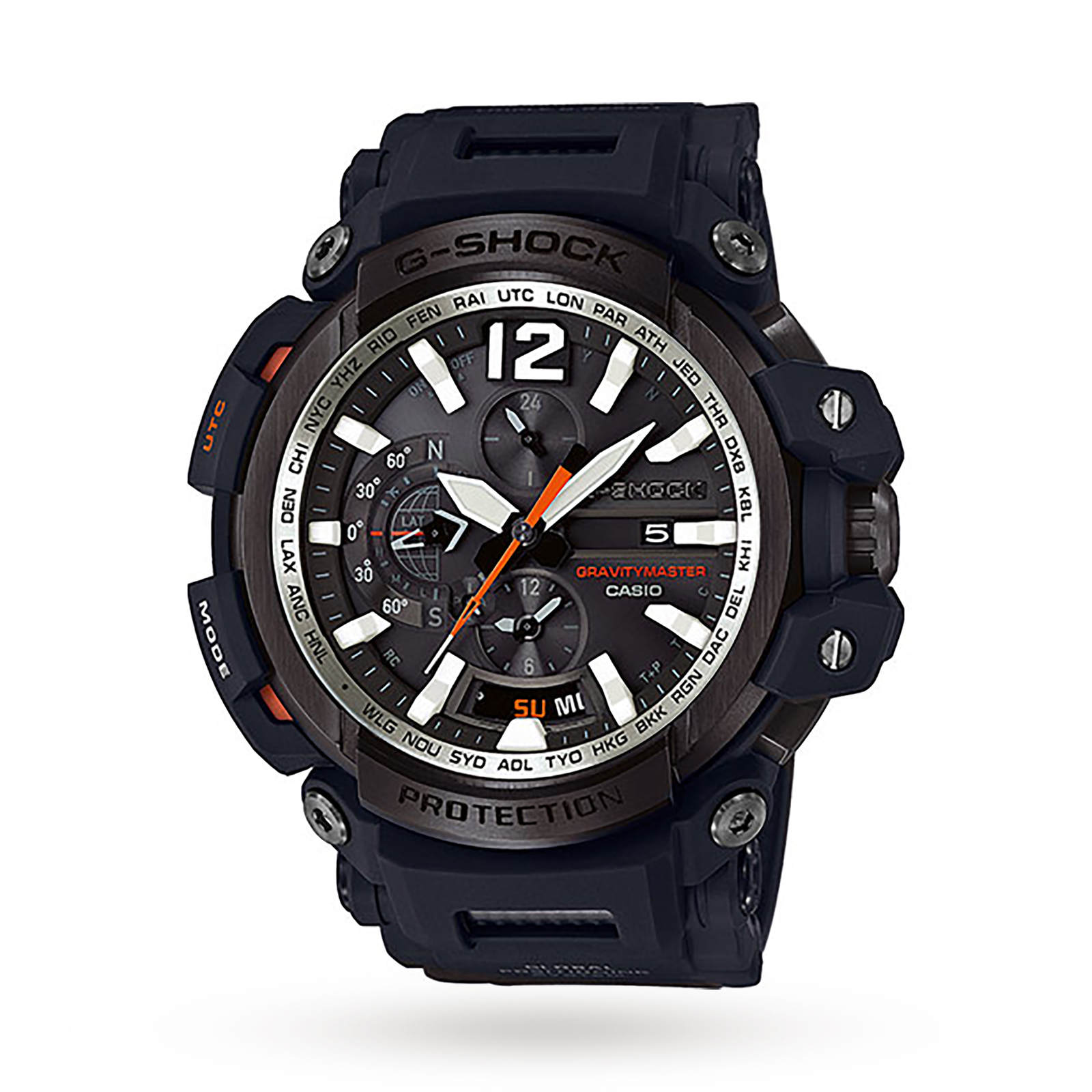 Casio G-Shock Gravitymaster Bluetooth GPS Alarm Chronograph Watch