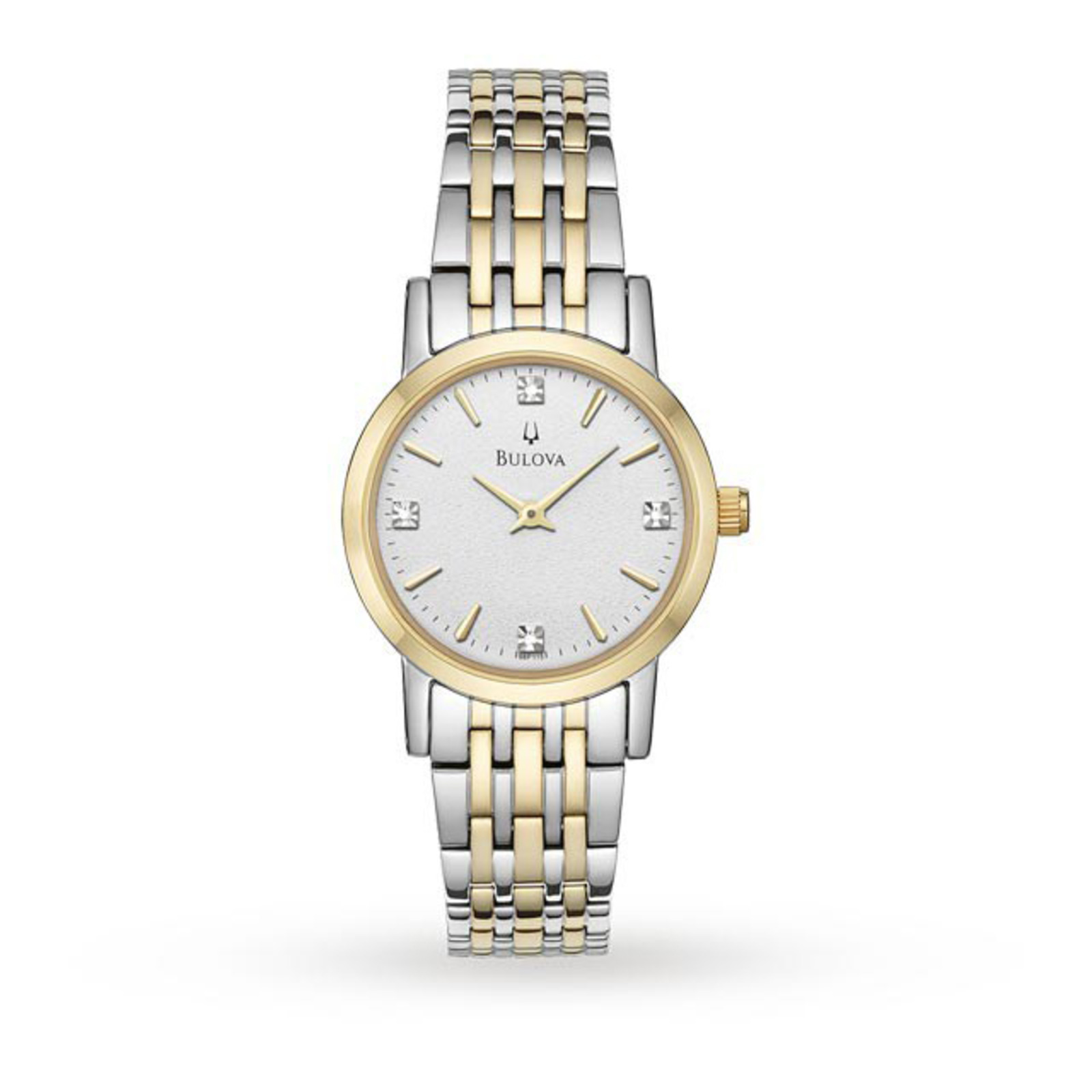 Bulova Ladies Bi Colour Watch