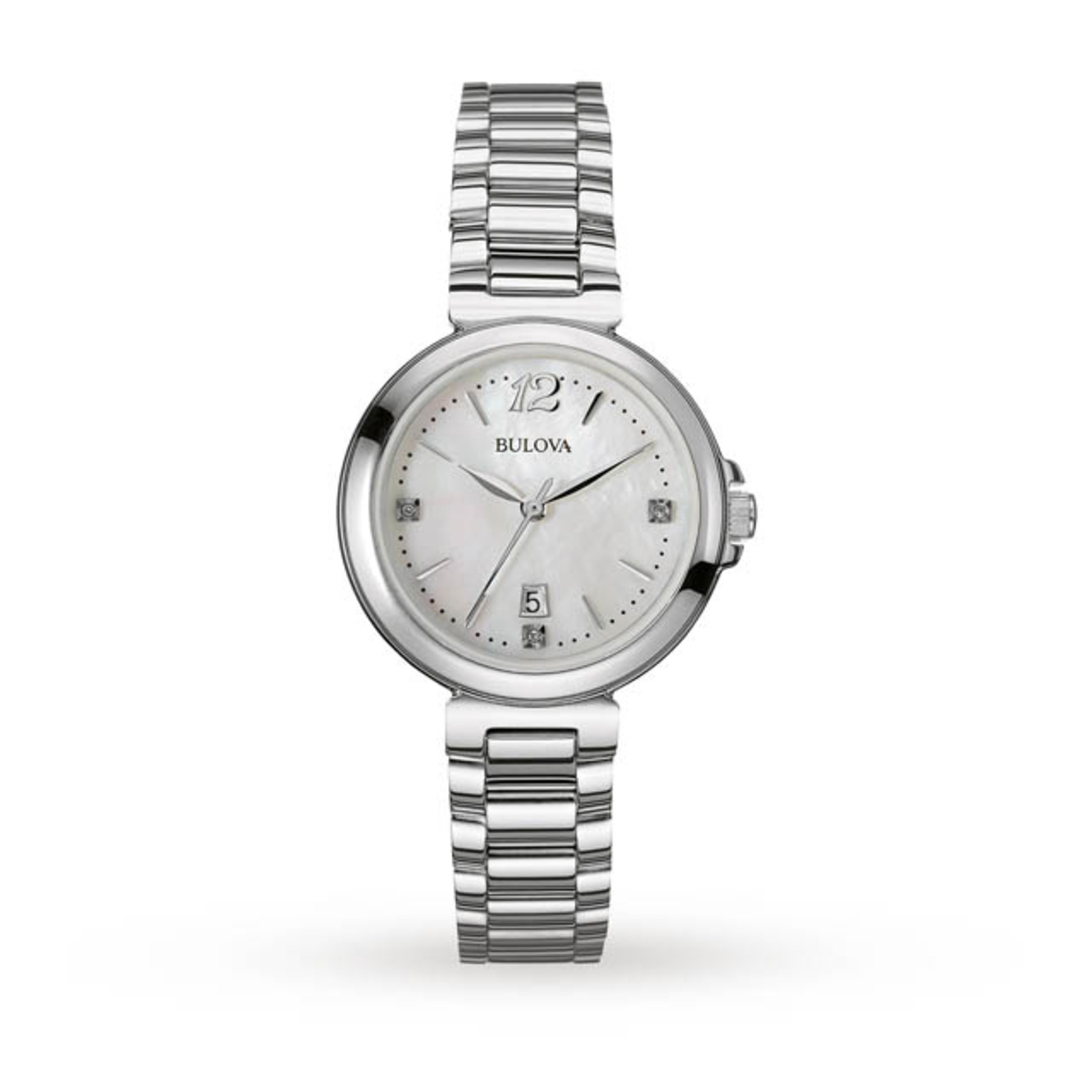 Ladies Bulova Diamond Gallery Watch