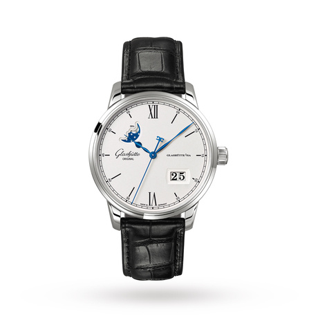 Glashutte Original Senator Excellence Panorama Date/Moon Phase Mens Watch
