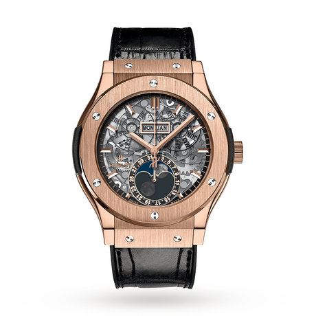 Hublot Classic Fusion Aerofusion Moonphase Mens Watch