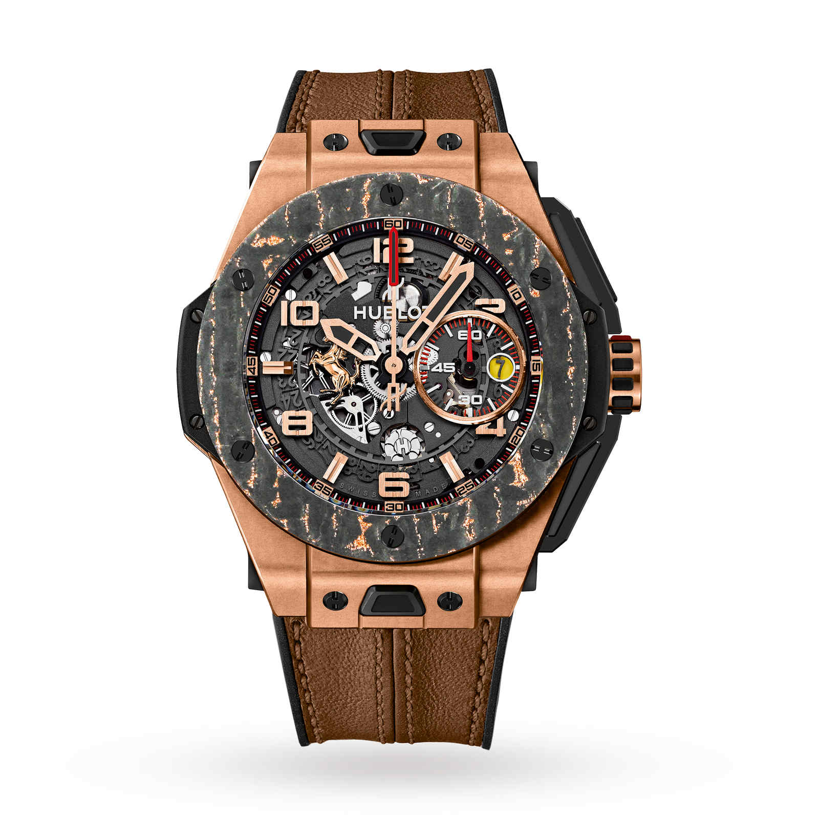 Hublot Big Bang Ferrari King Gold Mens Watch