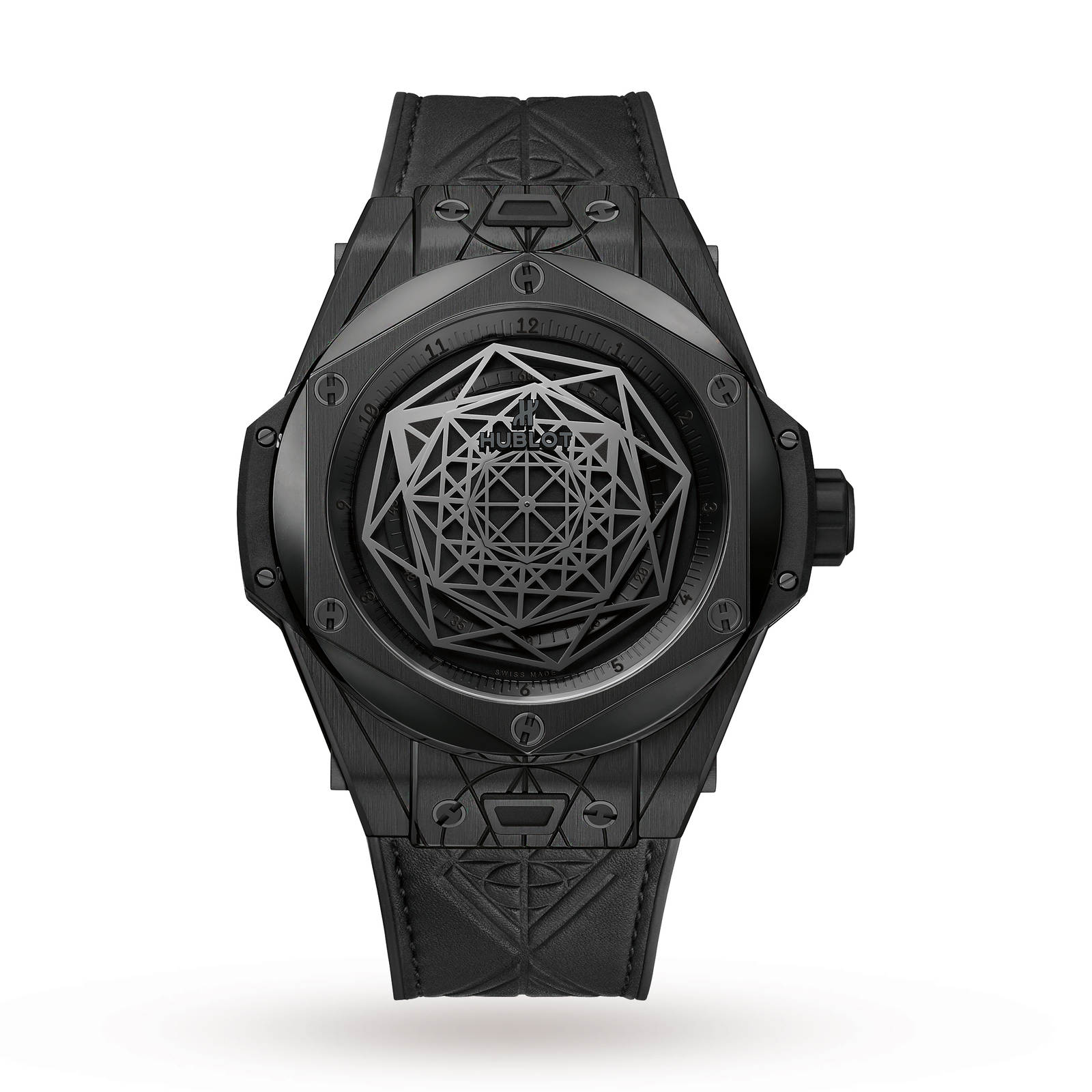 Hublot Big Bang Sang Bleu All Black Mens Watch
