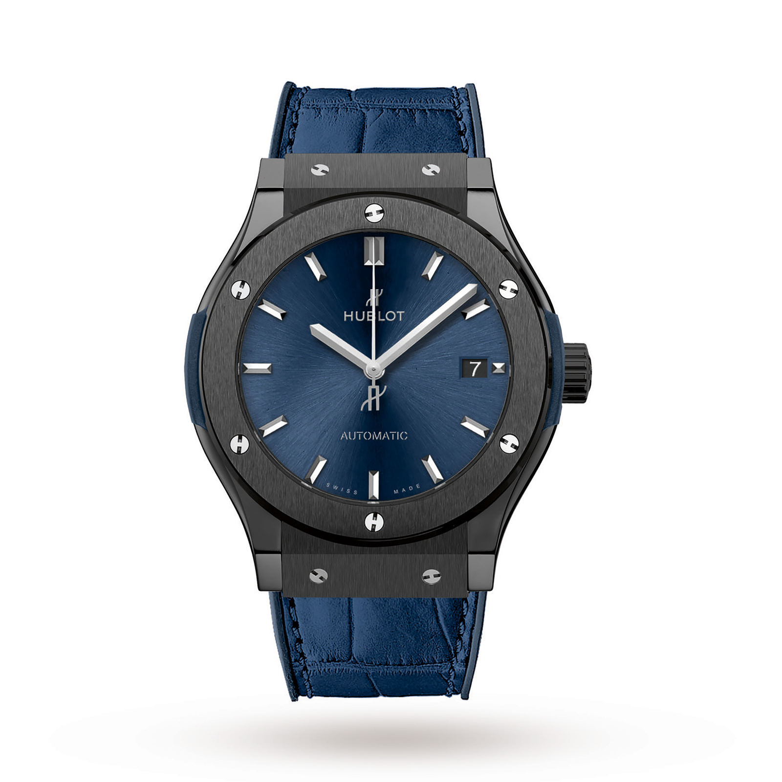 Hublot Classic Fusion Ceramic Blue Mens Watch