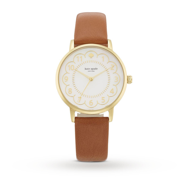 Kate Spade New York Ladies' Scallop Metro Watch