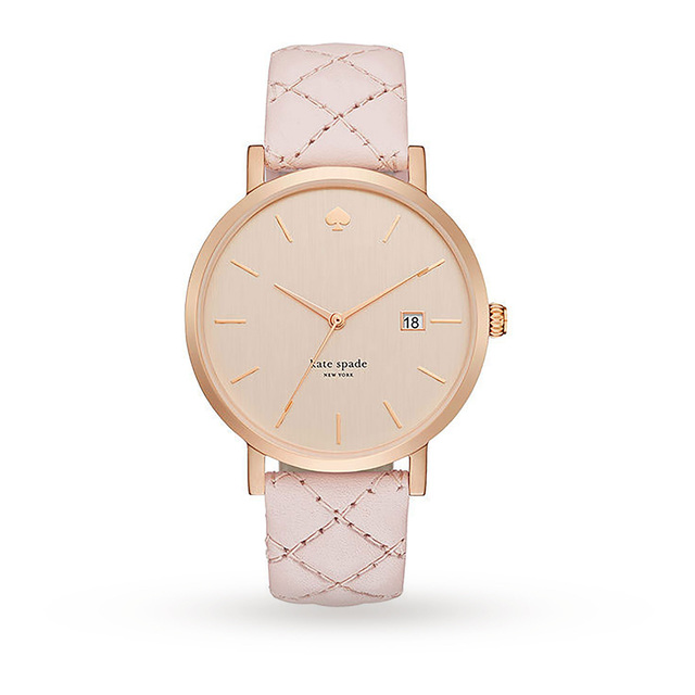Kate Spade New York Ladies' Metro Grand Quilted Watch