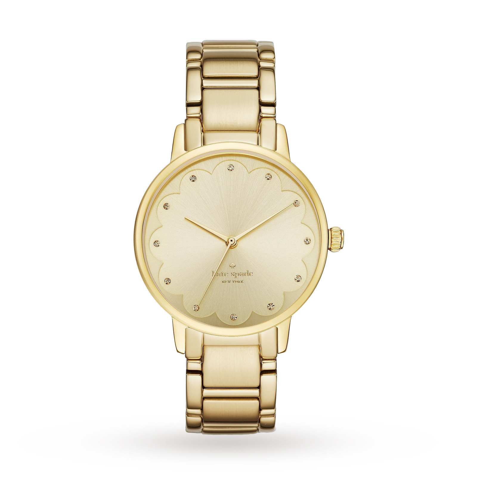 Ladies Kate Spade New York Gramercy Scalloped Watch KSW1047