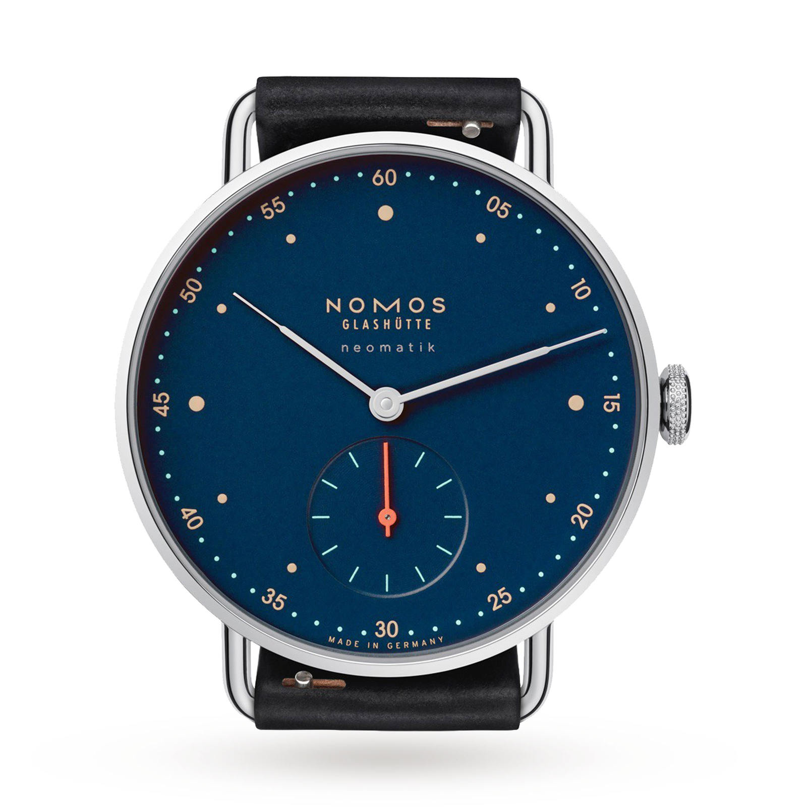 Nomos Glashutte Metro Neomatik Mens Watch