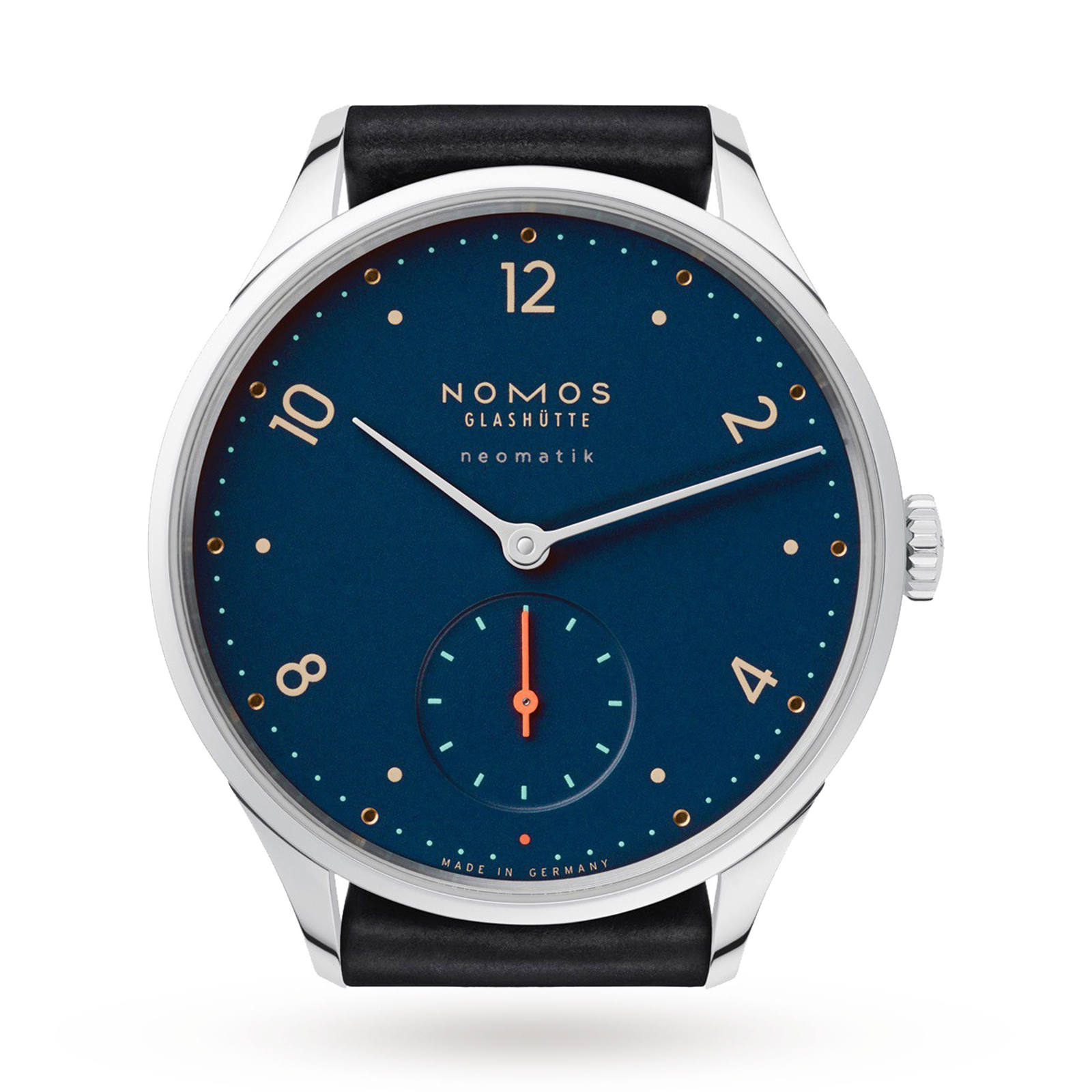 Nomos Glashutte Minimatik Nachtblau Mens Watch