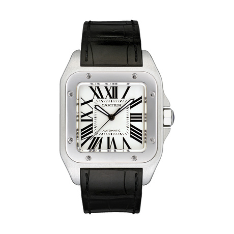 Cartier Santos 100 watch, large model