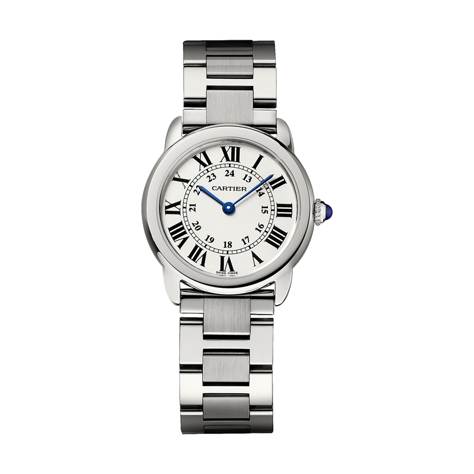 Cartier Ronde solo watch, small model