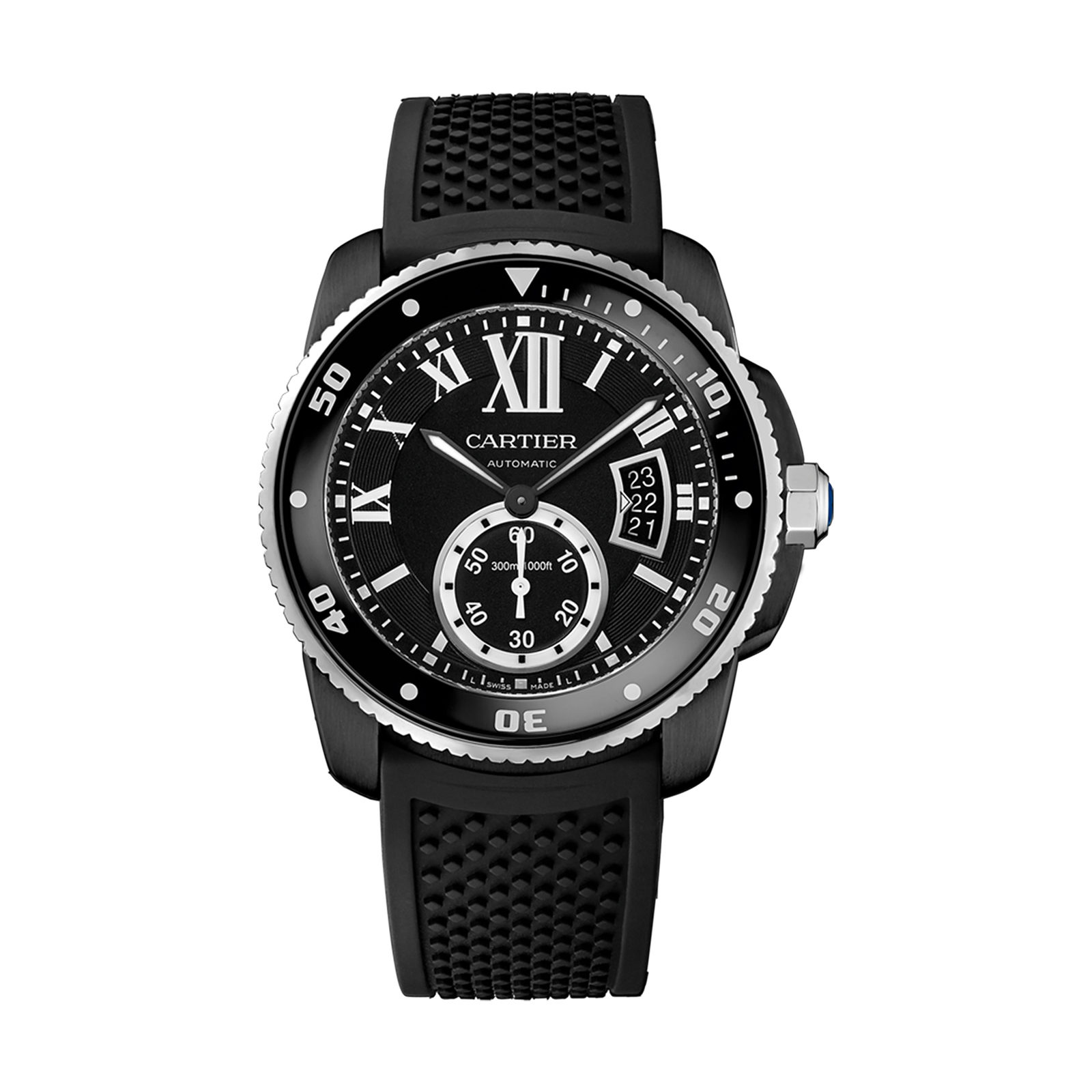 Calibre de Cartier Carbon Diver Watch