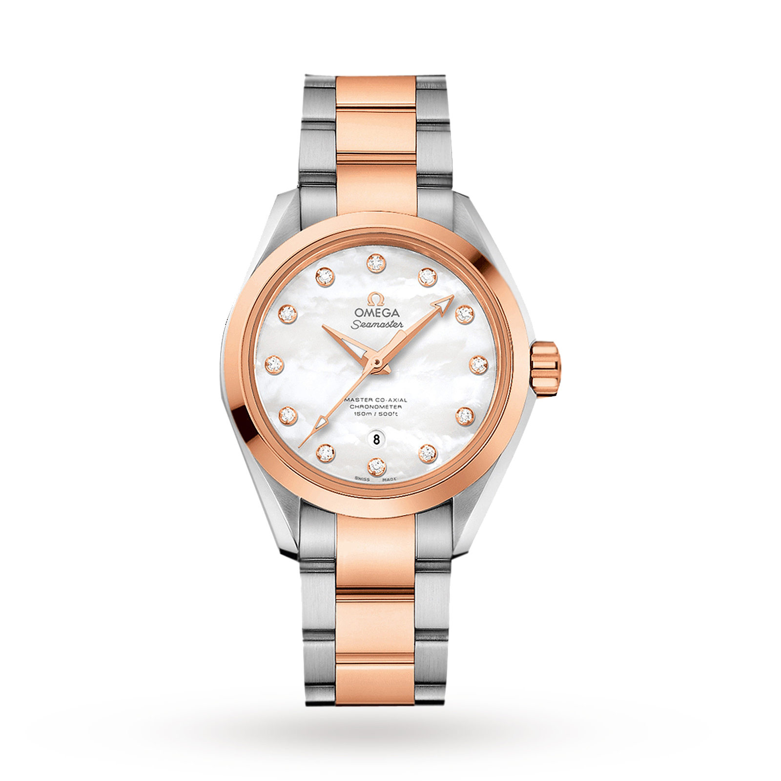 Omega Aquaterra Master Co-Axial Ladies Watch