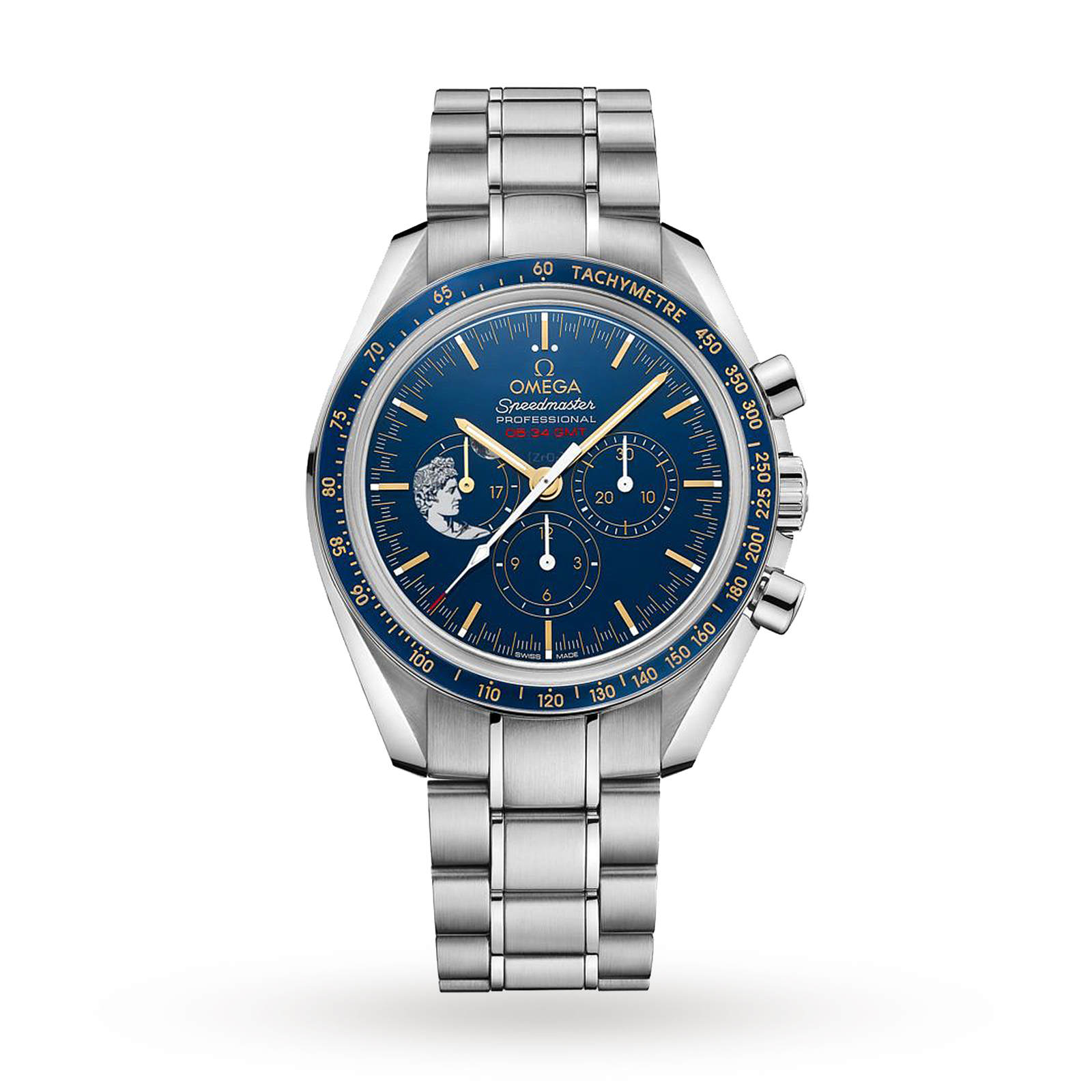 Omega Speedmaster Apollo 15 '45th Anniversary' Mens Watch