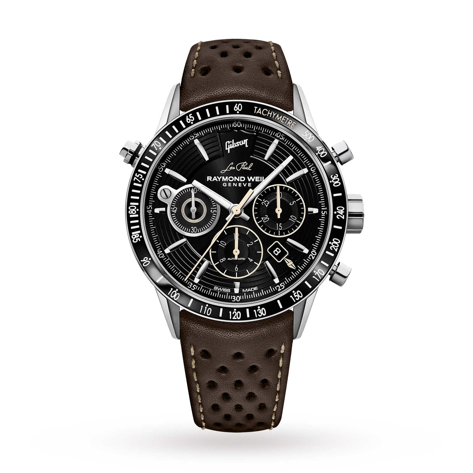 Raymond Weil Men's Freelancer Gibson Les Paul Limited Edition Automatic Chronograph Watch 7740-STC-L