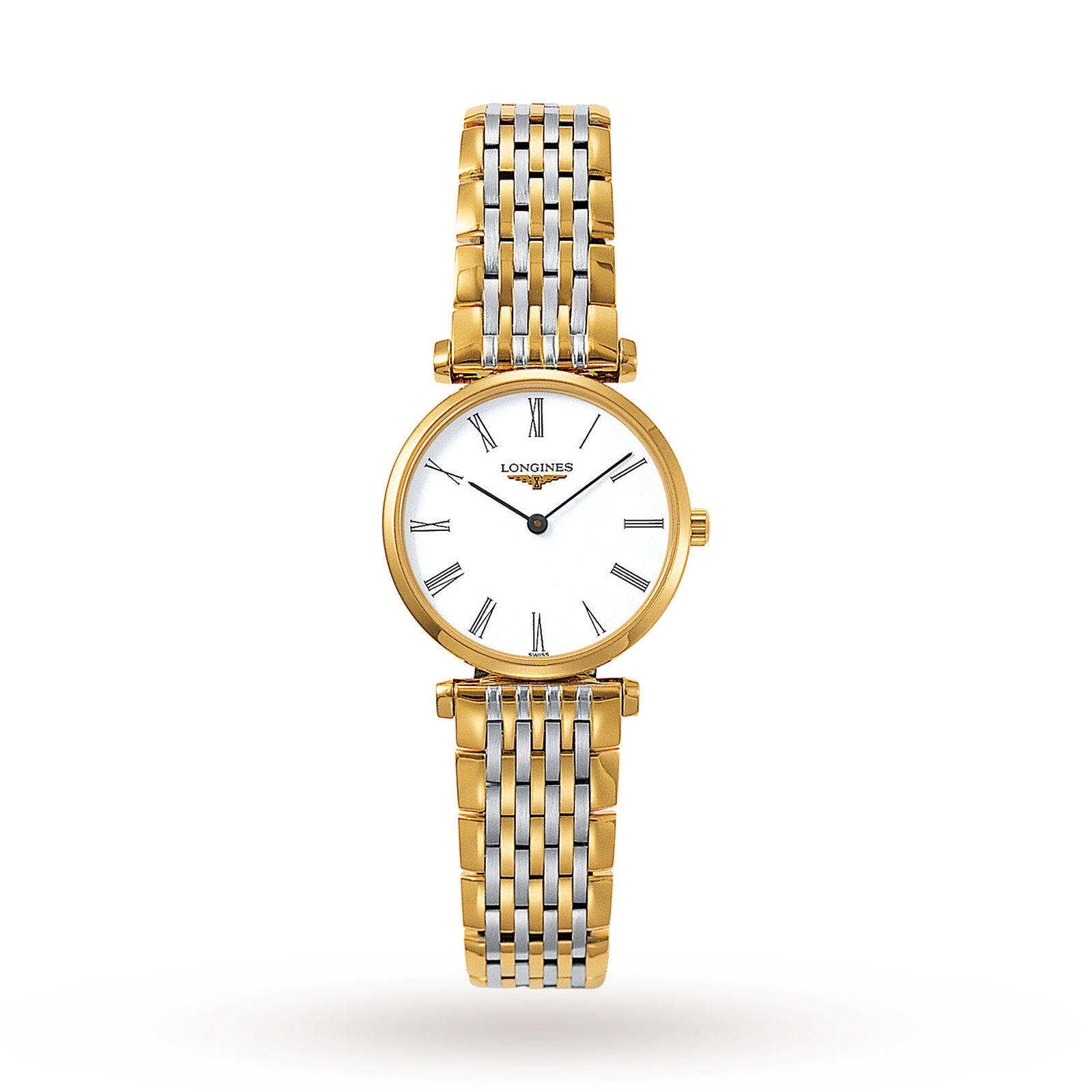 Longines La Grande Classique ladies with white dial.