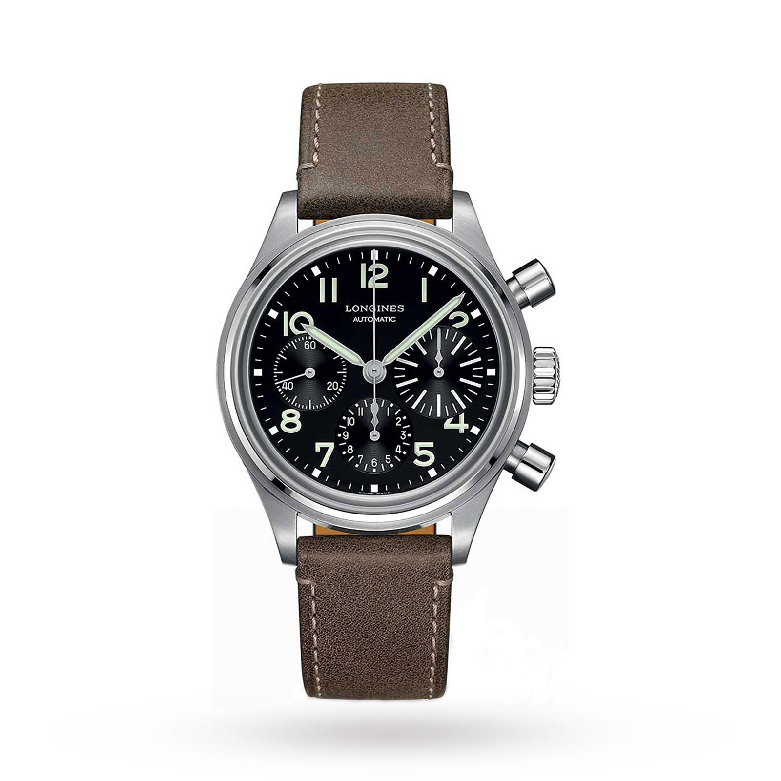 Longines Heritage Avigation Bigeye Mens Watch