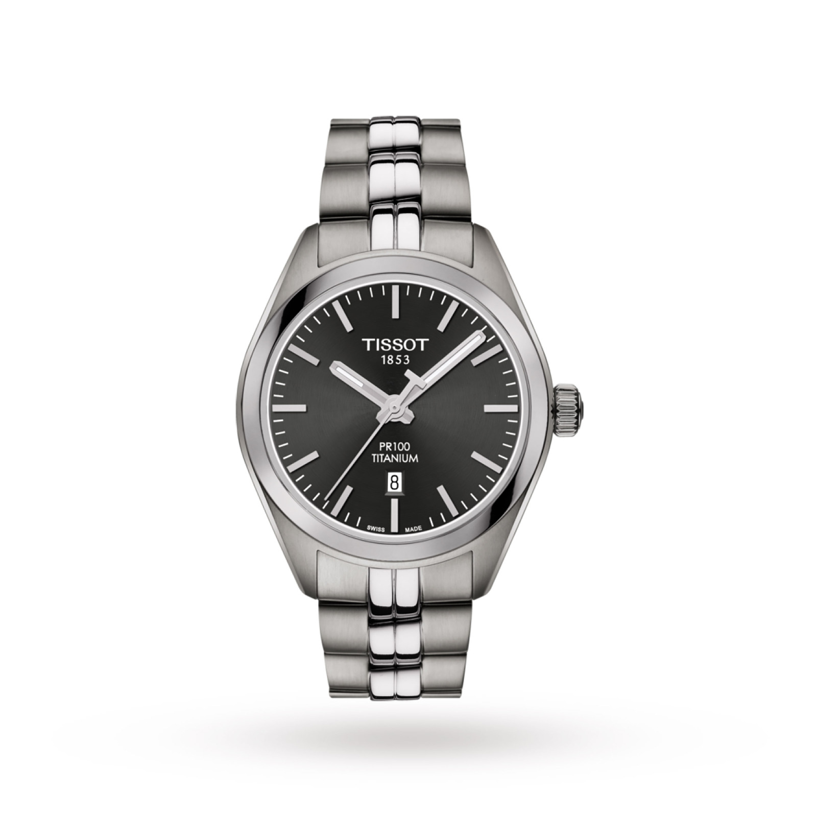 Tissot Ladies' PR100 Titanium Watch