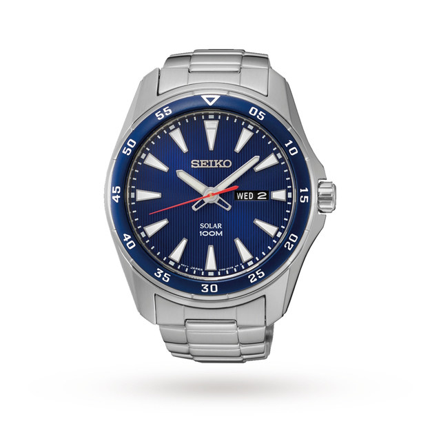 Seiko Men's Solar Powered Watch SNE391P1