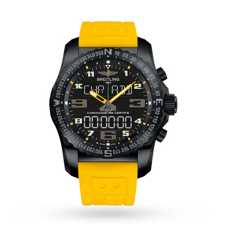 Breitling Cockpit B50 Titanium Mens Watch VB5010A4/BD41242S