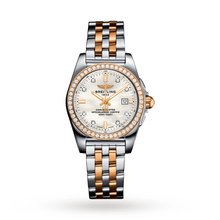 Breitling Galactic Bicolour Ladies Watch