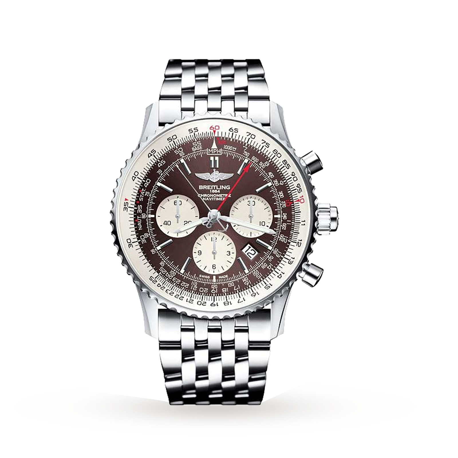 Breitling Navitimer Rattrapante Mens Watch