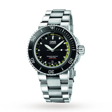 Oris Men's Aquis Depth Gauge Set Automatic Watch