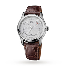Oris Men's Artelier Small Second Pointer Day Calf Leather Strap Automatic Watch