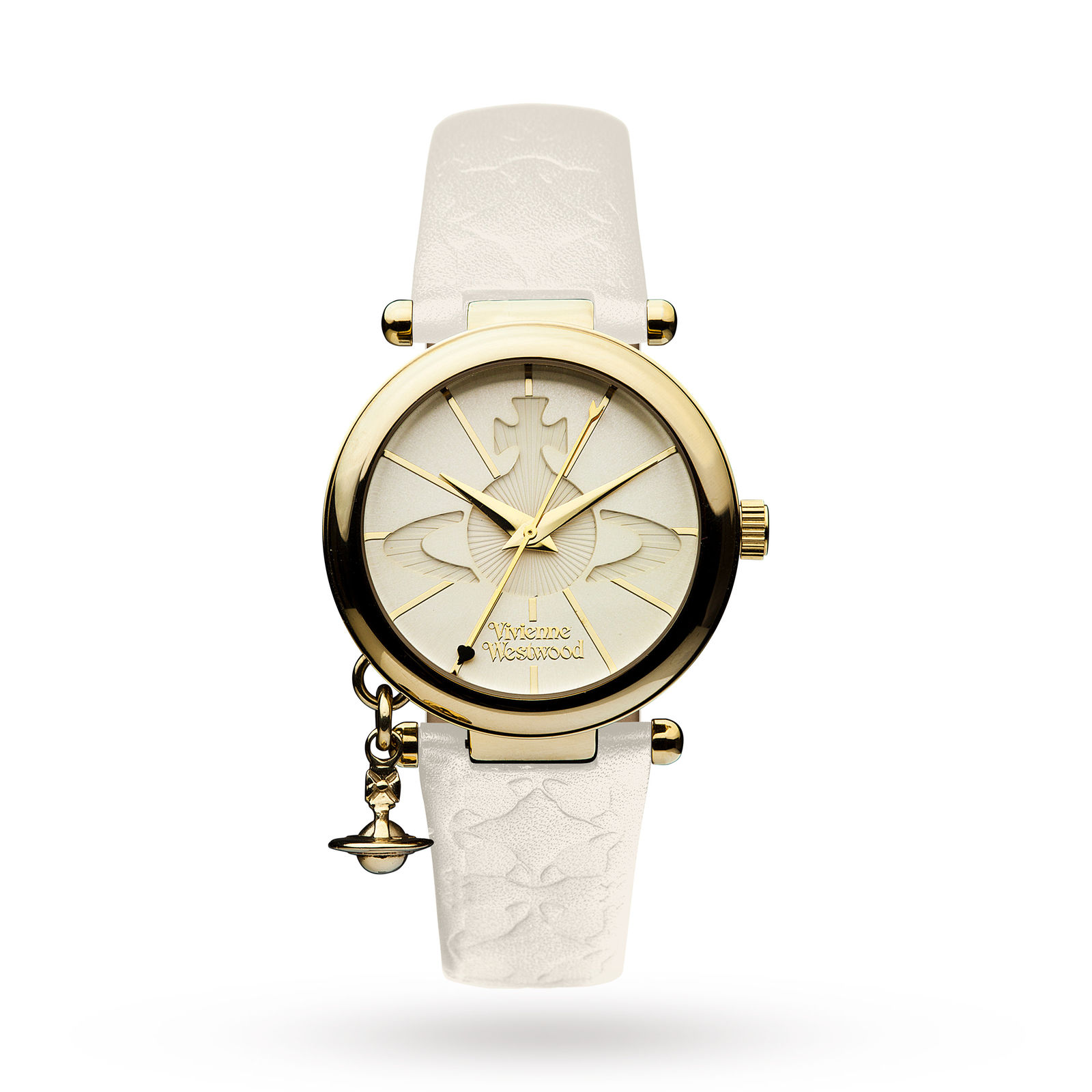 Vivienne Westwood Orb 2 White Ladies Watch