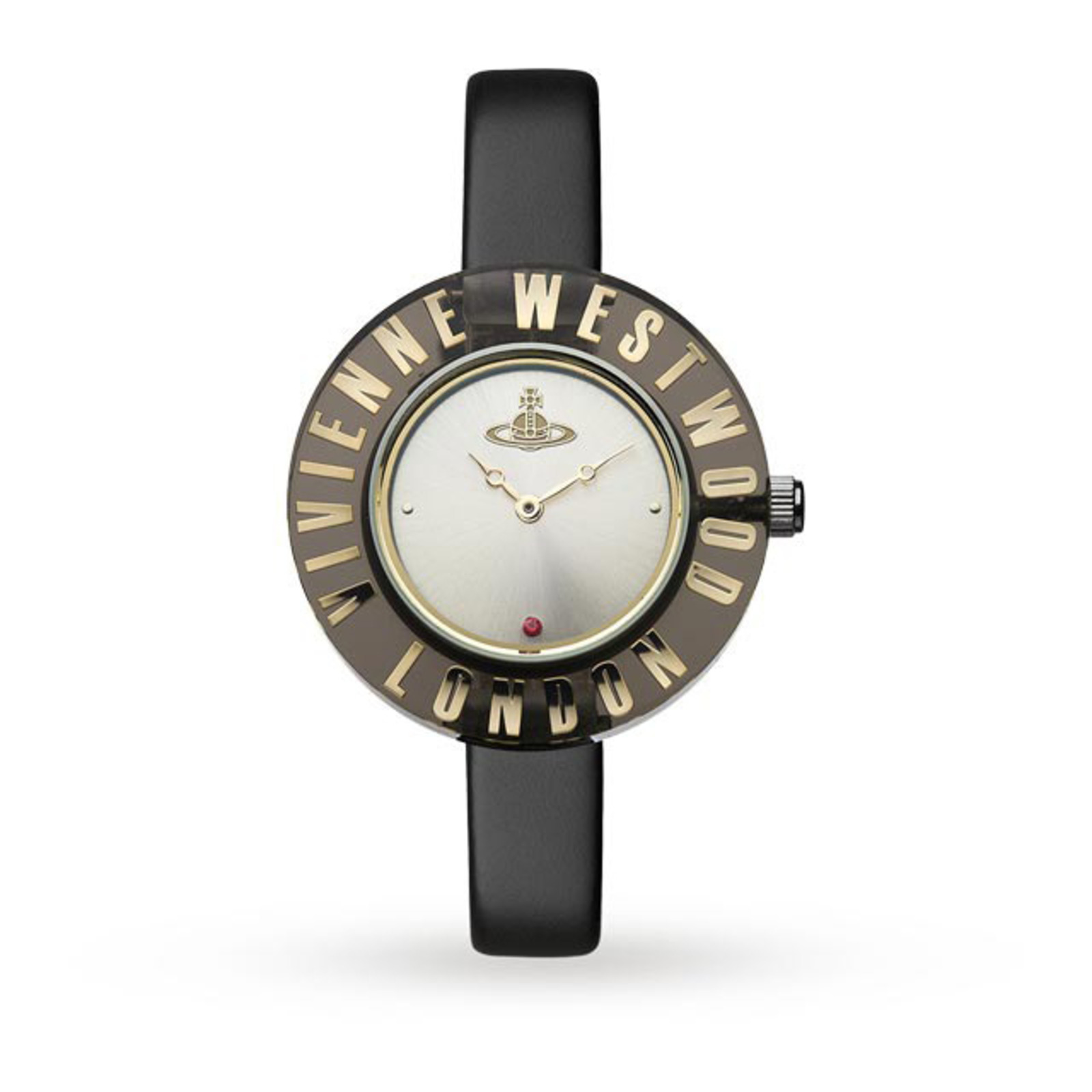 Vivienne Westwood Black Clarity Watch