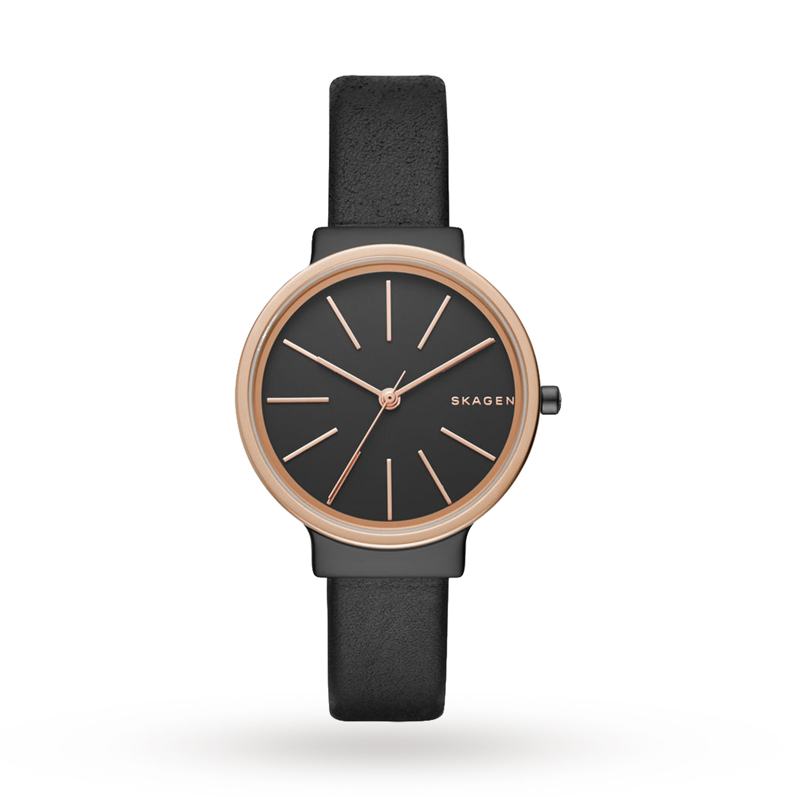 Skagen Ancher Leather Watch SKW2480