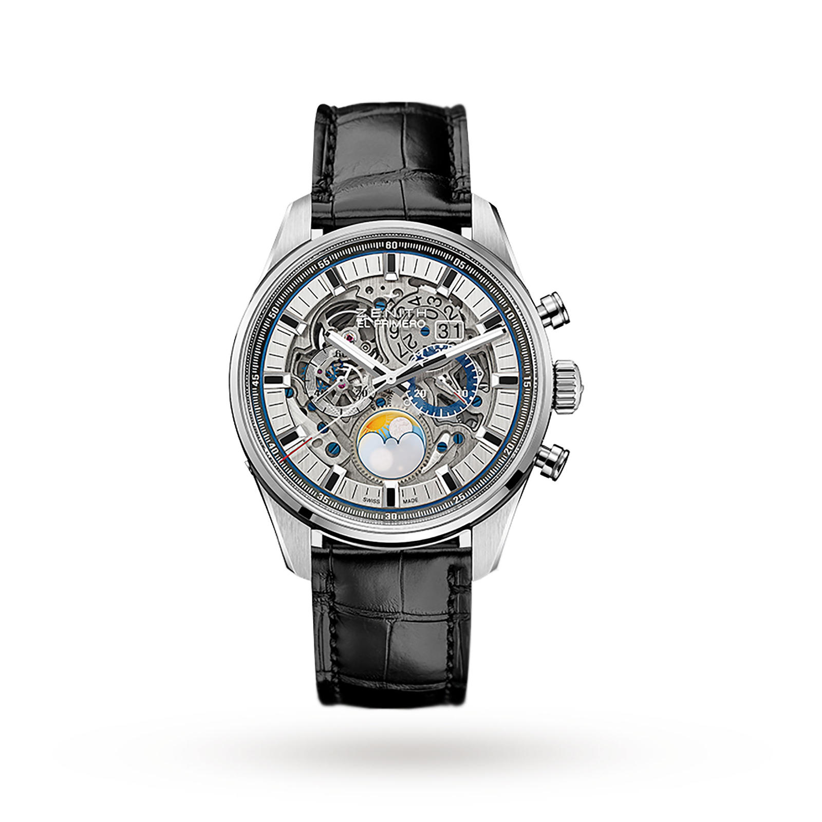 Zenith Chronomaster Grande Date Full Open Mens Watch