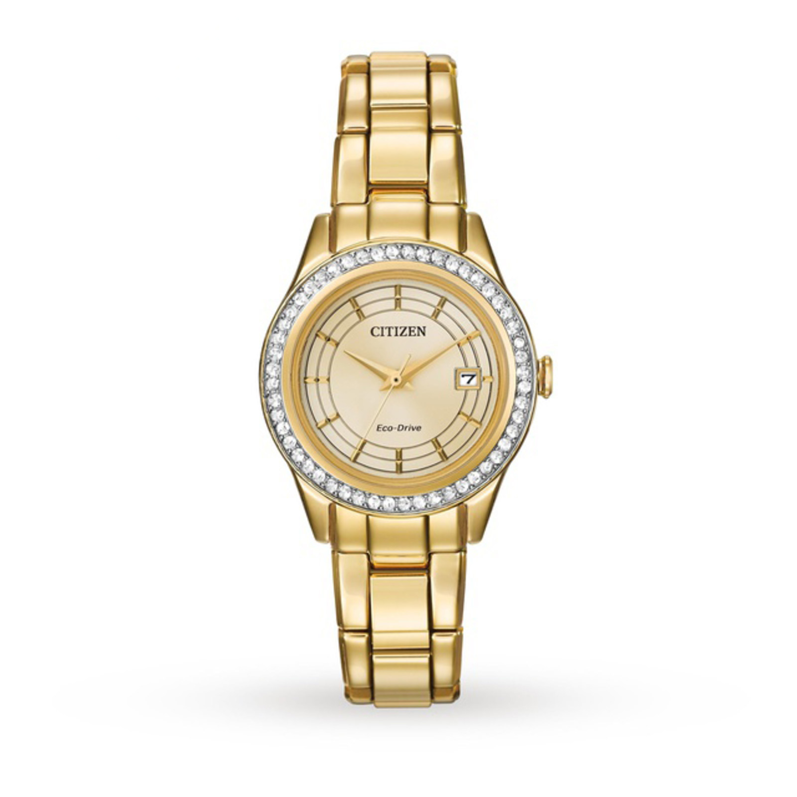 Citizen Ladies Silhouette Crystal Eco-Drive Watch