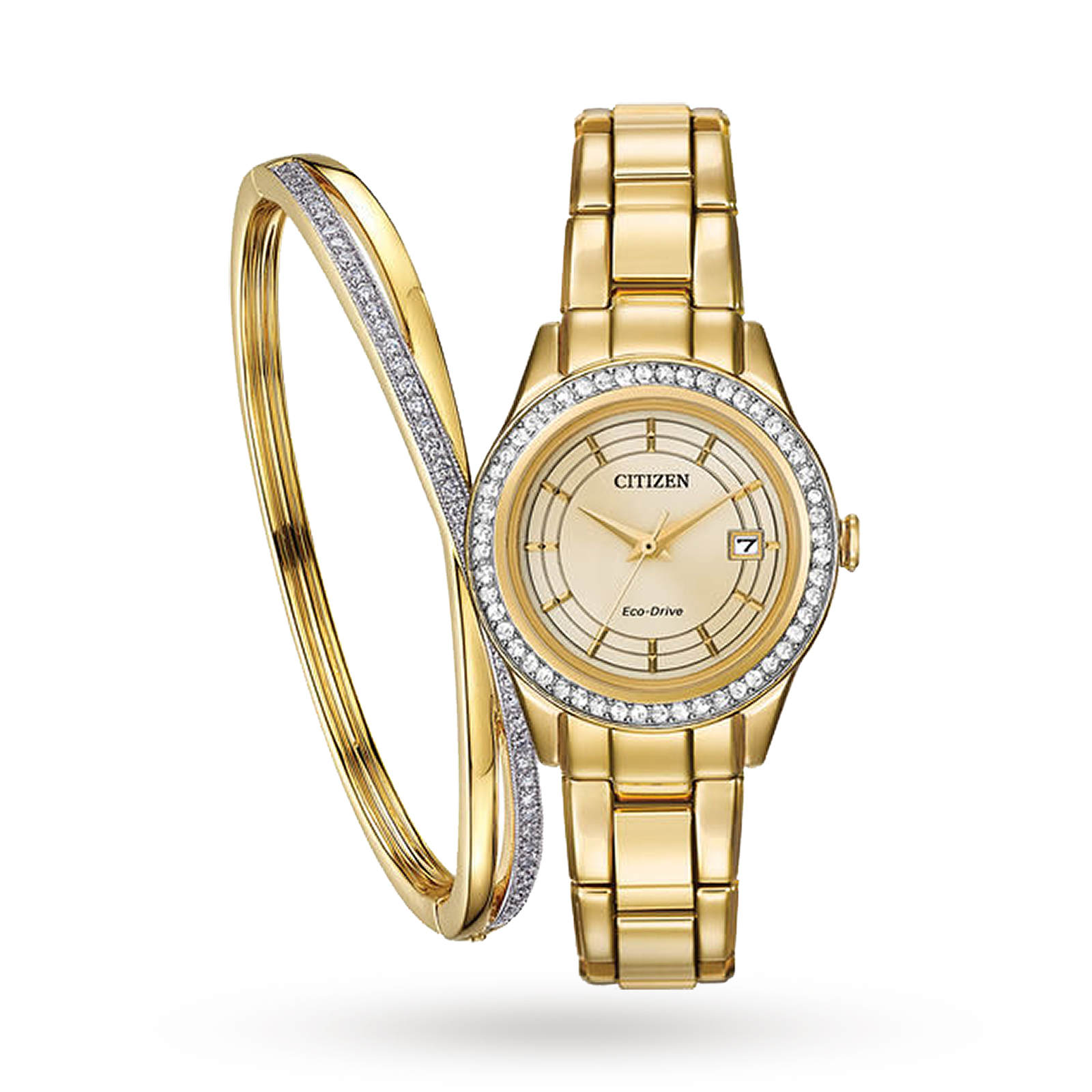 Citizen Eco-Drive Ladies' Gift Set - Exclusive