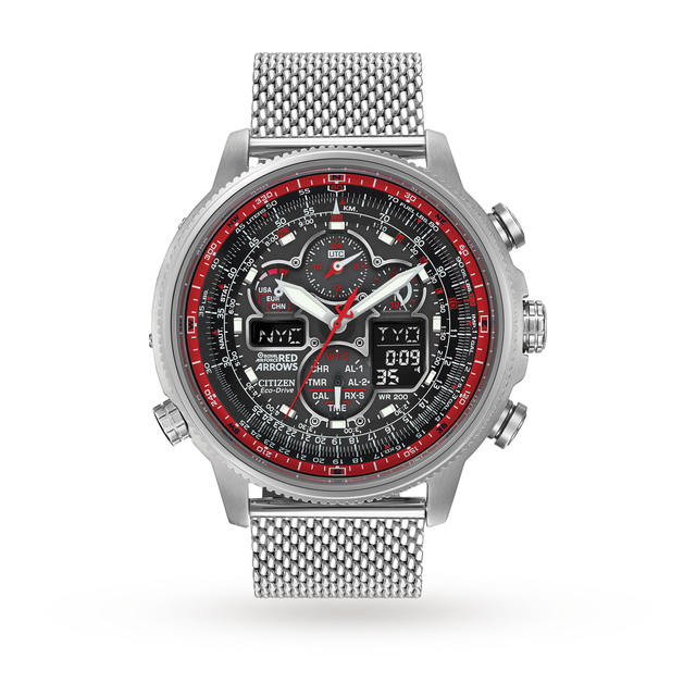 Citizen Navihawk Red Arrows Mens Watch - Limited Edition