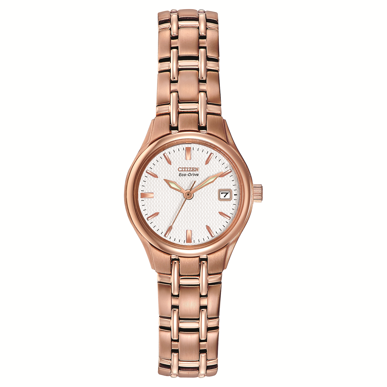 Citizen Women's Silhoutte Stainless Steel Bracelet Strap Watch