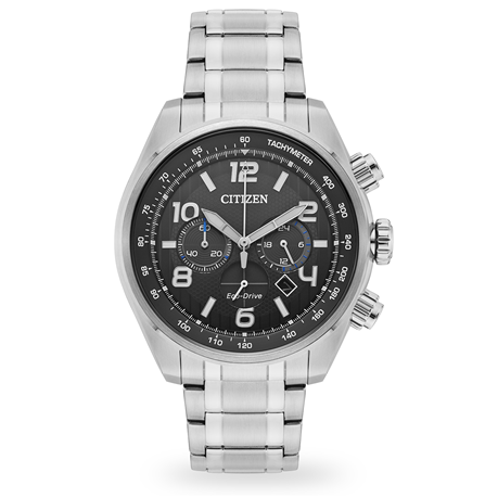 For Him - Citizen Eco-Drive Men's Chronograph Watch 45mm CA4330-57H - CA4330-57F