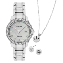 Citizen Stainless Steel Ladies Gift Set
