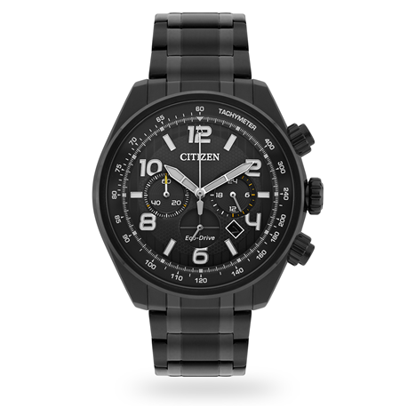 For Him - Citizen Exclusive Mens Black Watch - CA4335-53H