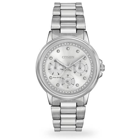 For Her - Citizen Silhouette Crystal Ladies Watch - FD2040-57A