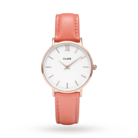 Ladies Cluse Minuit Limited Edition Flamingo Pink Watch CL30045