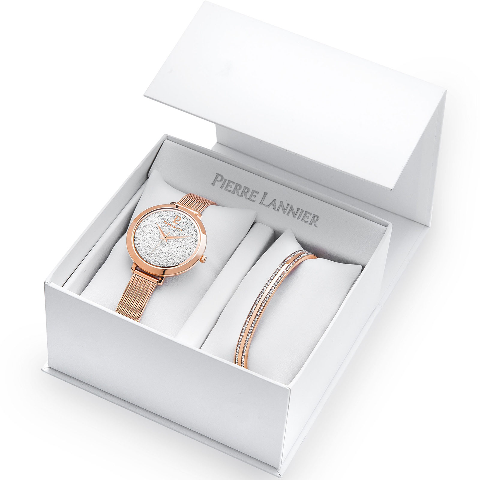 Pierre Lannier Ladies' Cristal Gift Set Watch