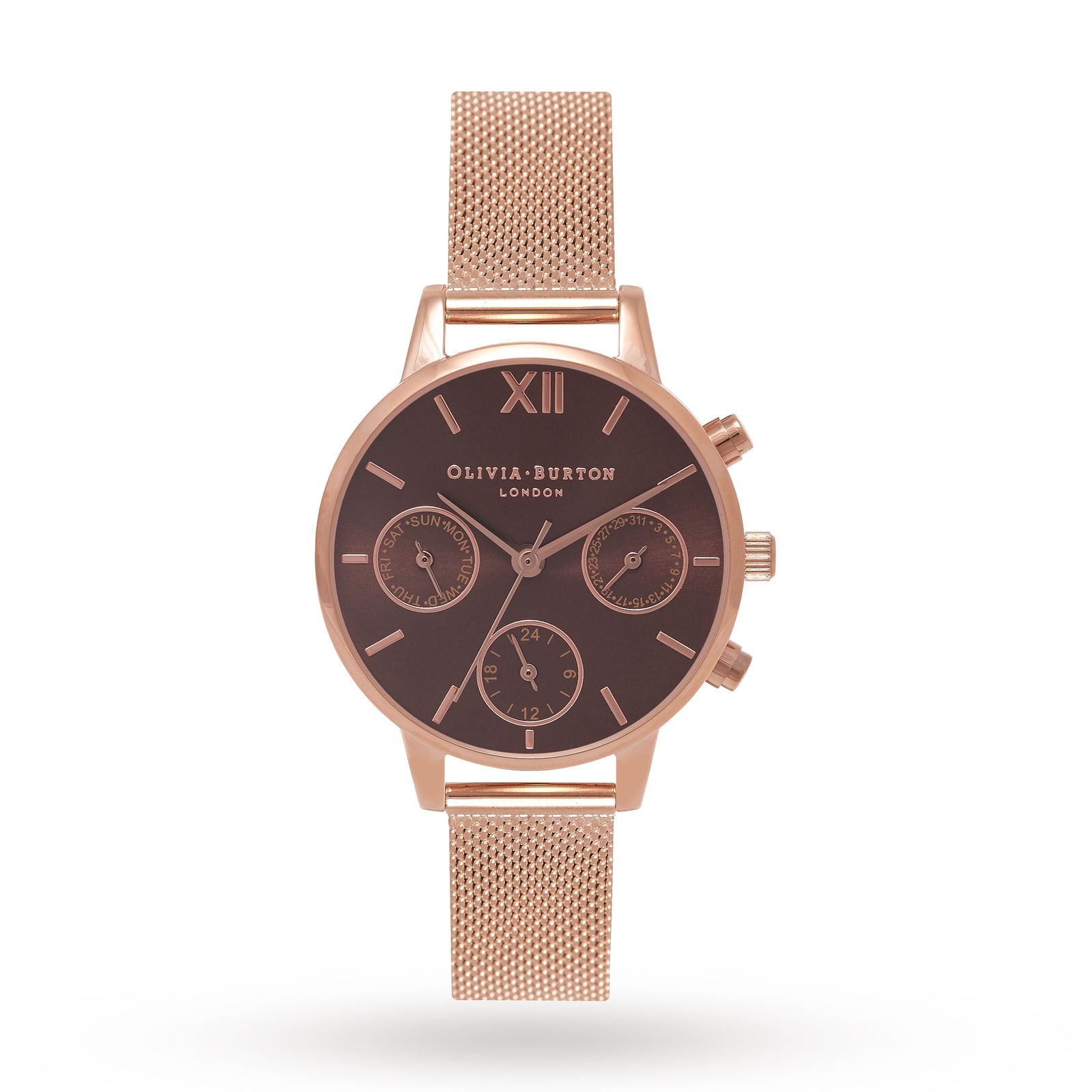 Olivia Burton Ladies' Chrono Detail Midi Chronograph Watch