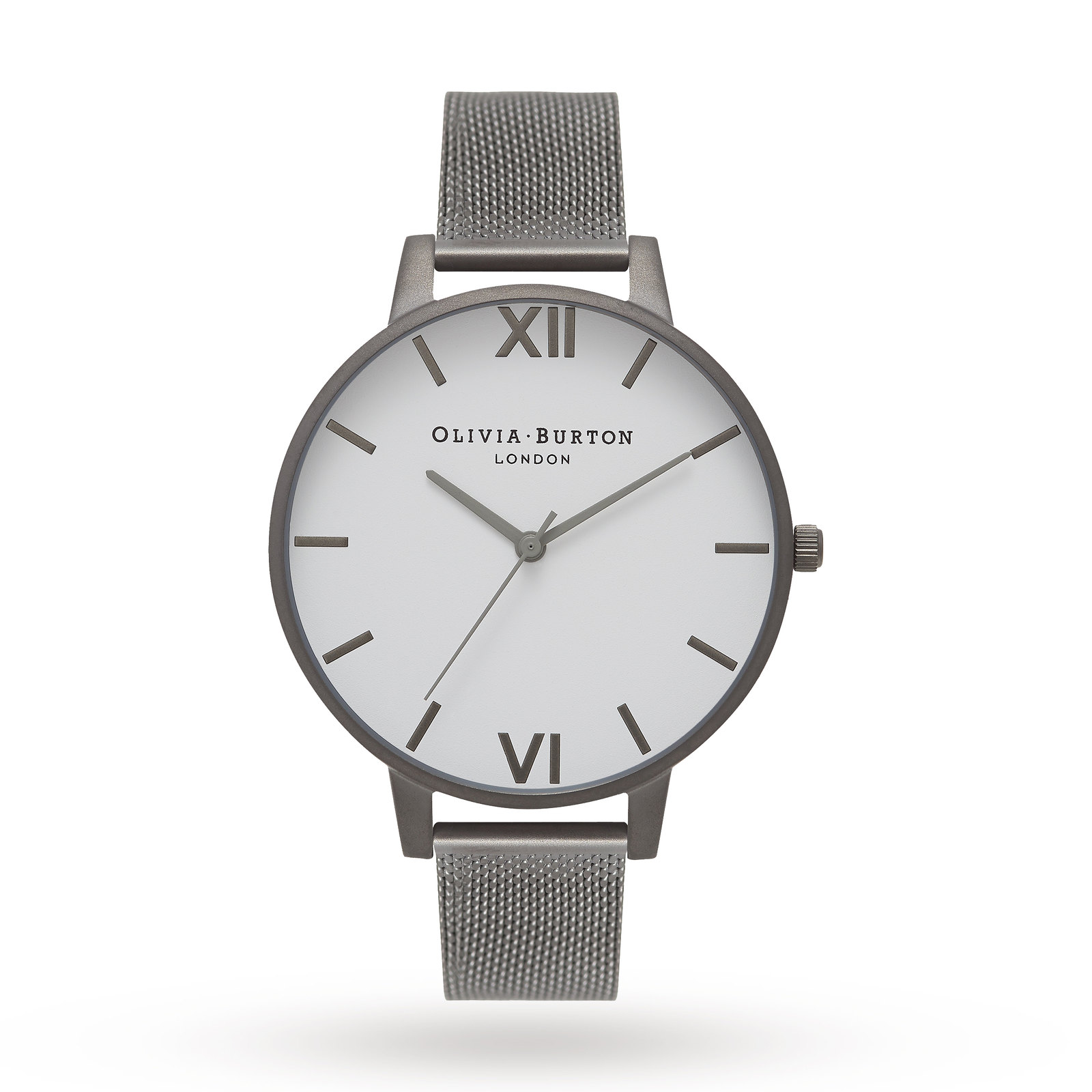 Olivia Burton Ladies' Big White Dial Watch