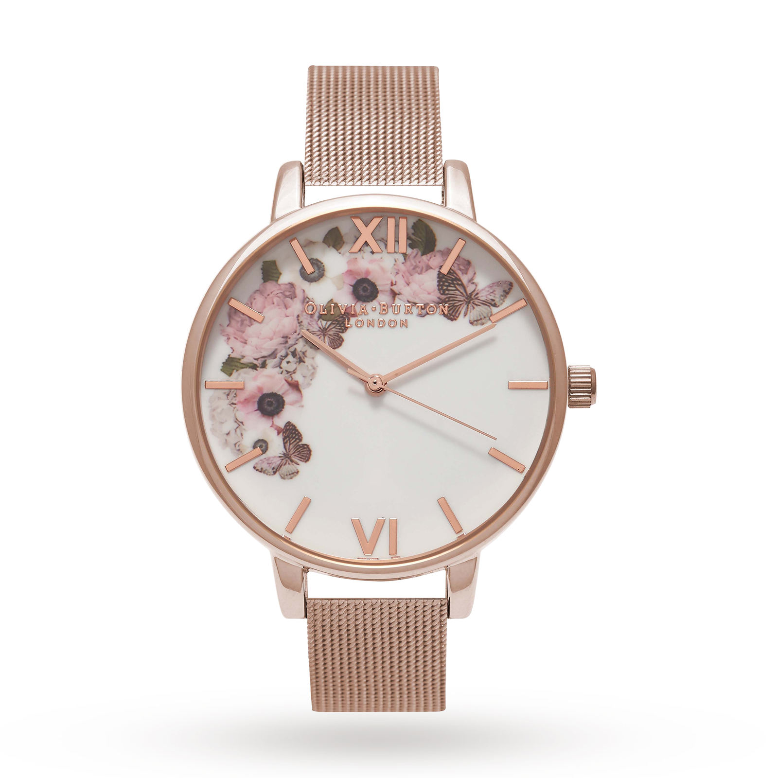 Olivia Burton Ladies' Winter Garden Watch
