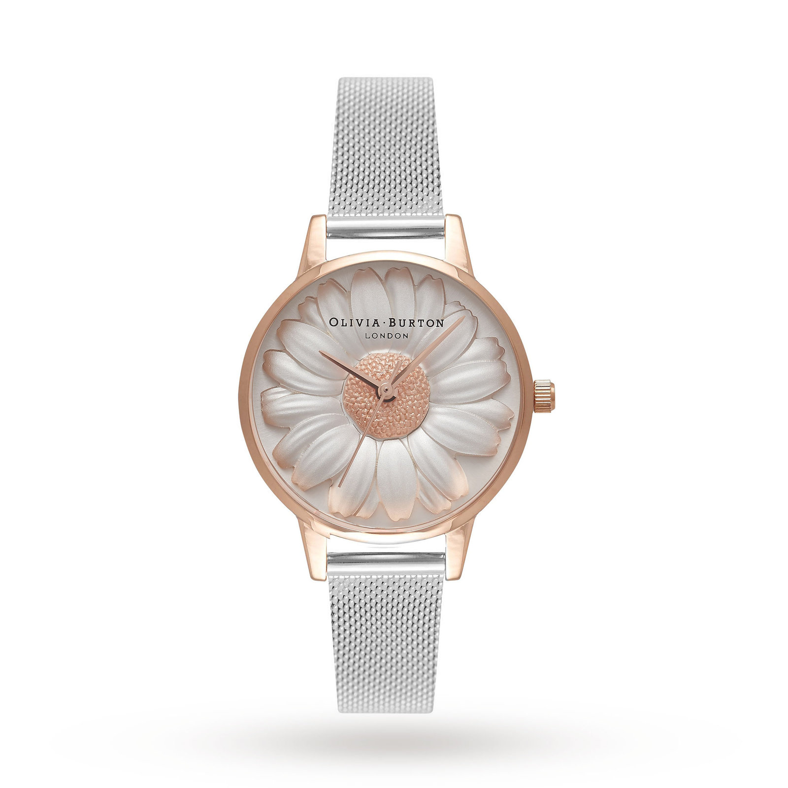 Ladies Olivia Burton Moulded Daisy Watch OB16FS94