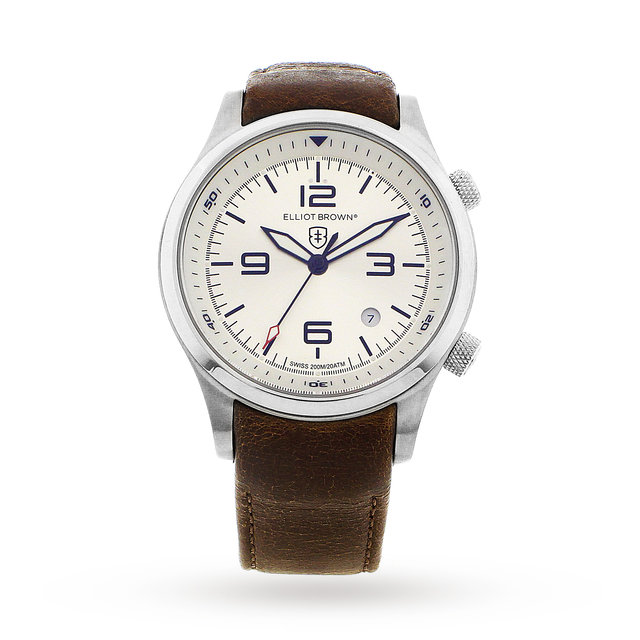 Elliot Brown Men's Canford Custom Watch
