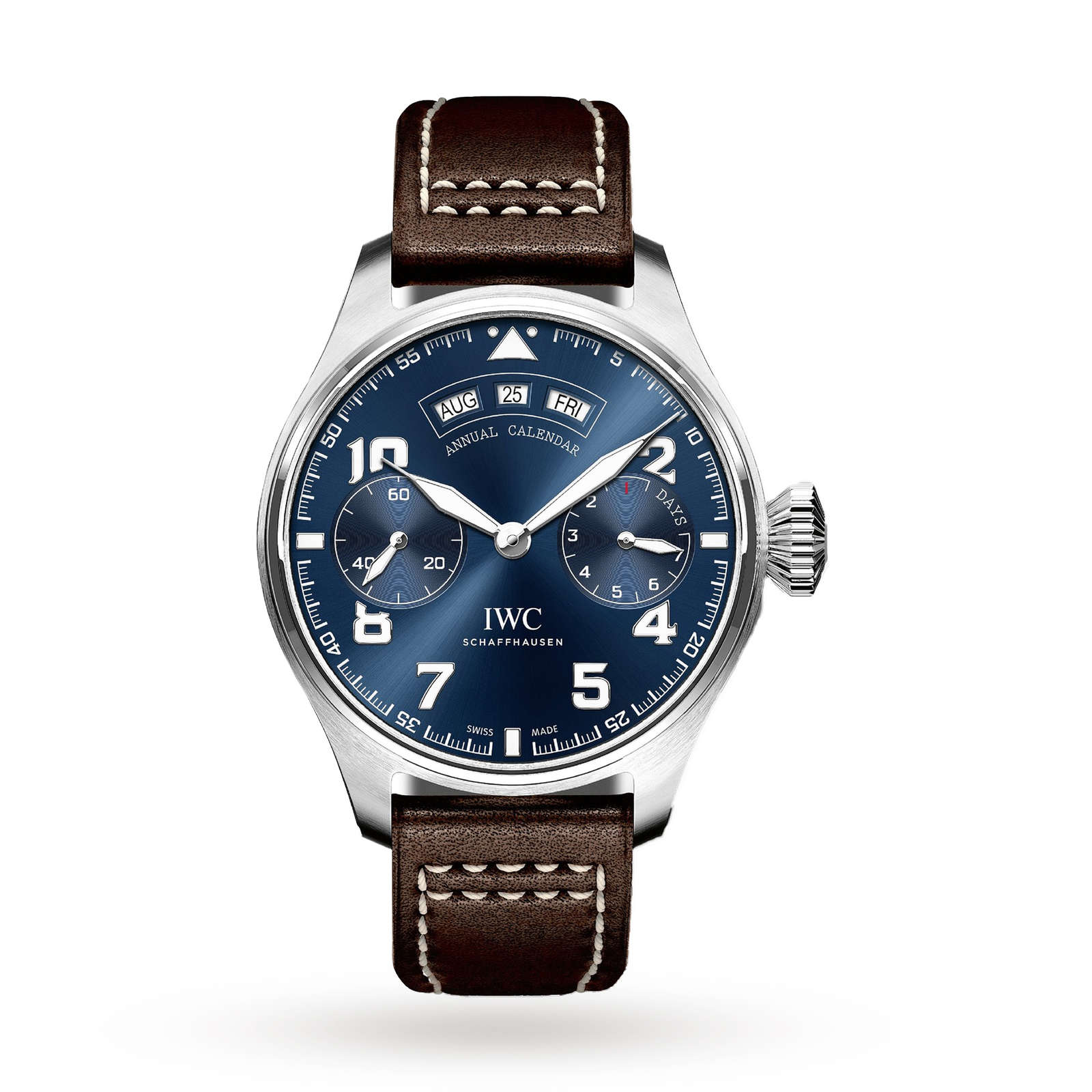 IWC Big Pilot Annual Calender Men's Watch
