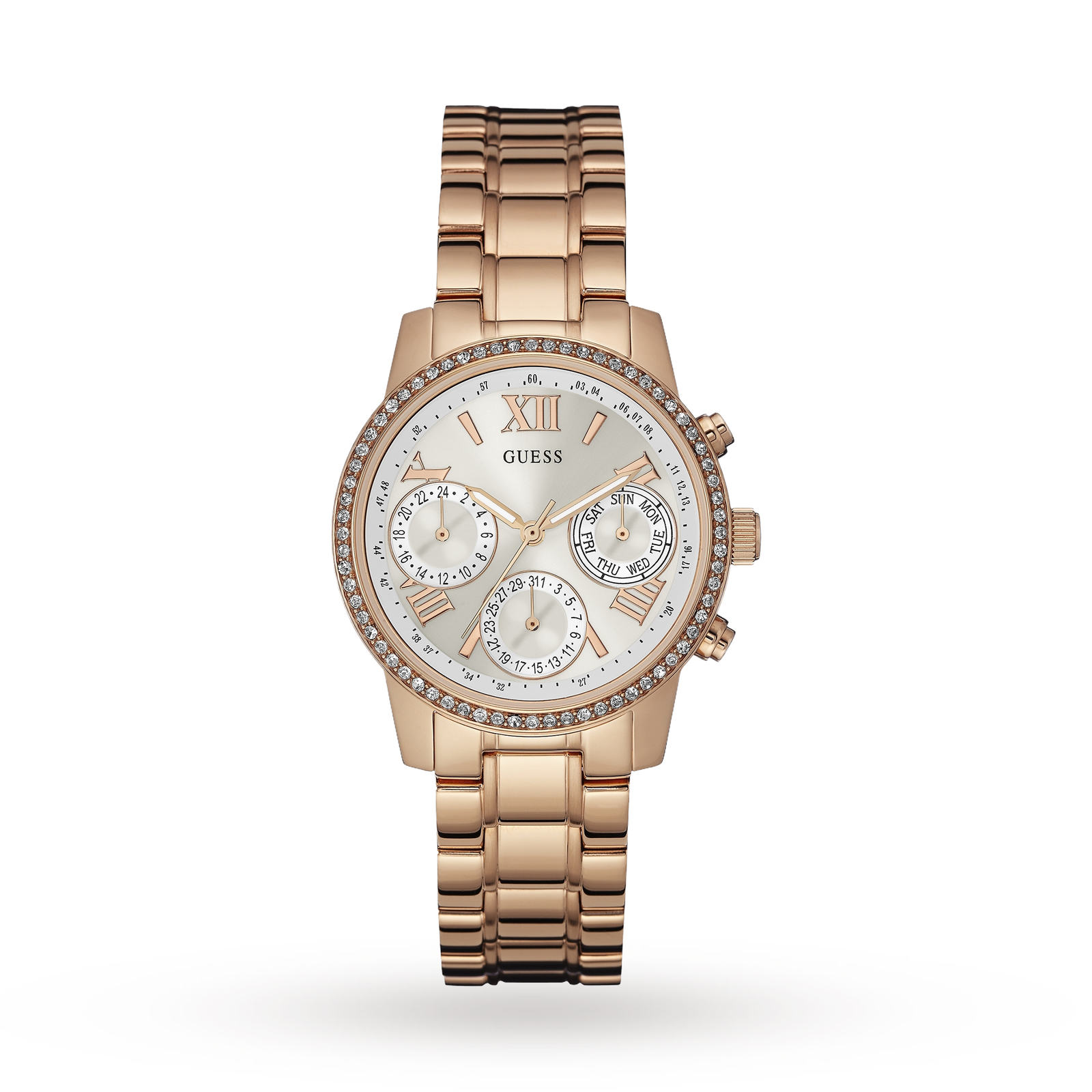 Guess Ladies' Mini Sunrise Chronograph Watch