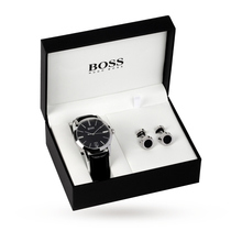 Hugo Boss Gents Watch And Cufflinks Set 1570046